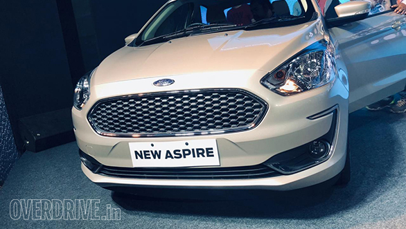 Live Updates 2018 Ford Aspire Facelift India Launch Overdrive
