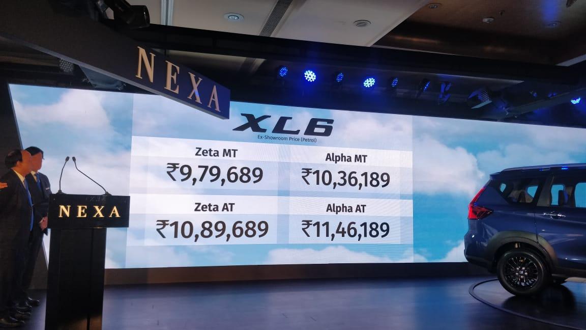 Live Updates: Maruti Suzuki XL6 launch updates, details