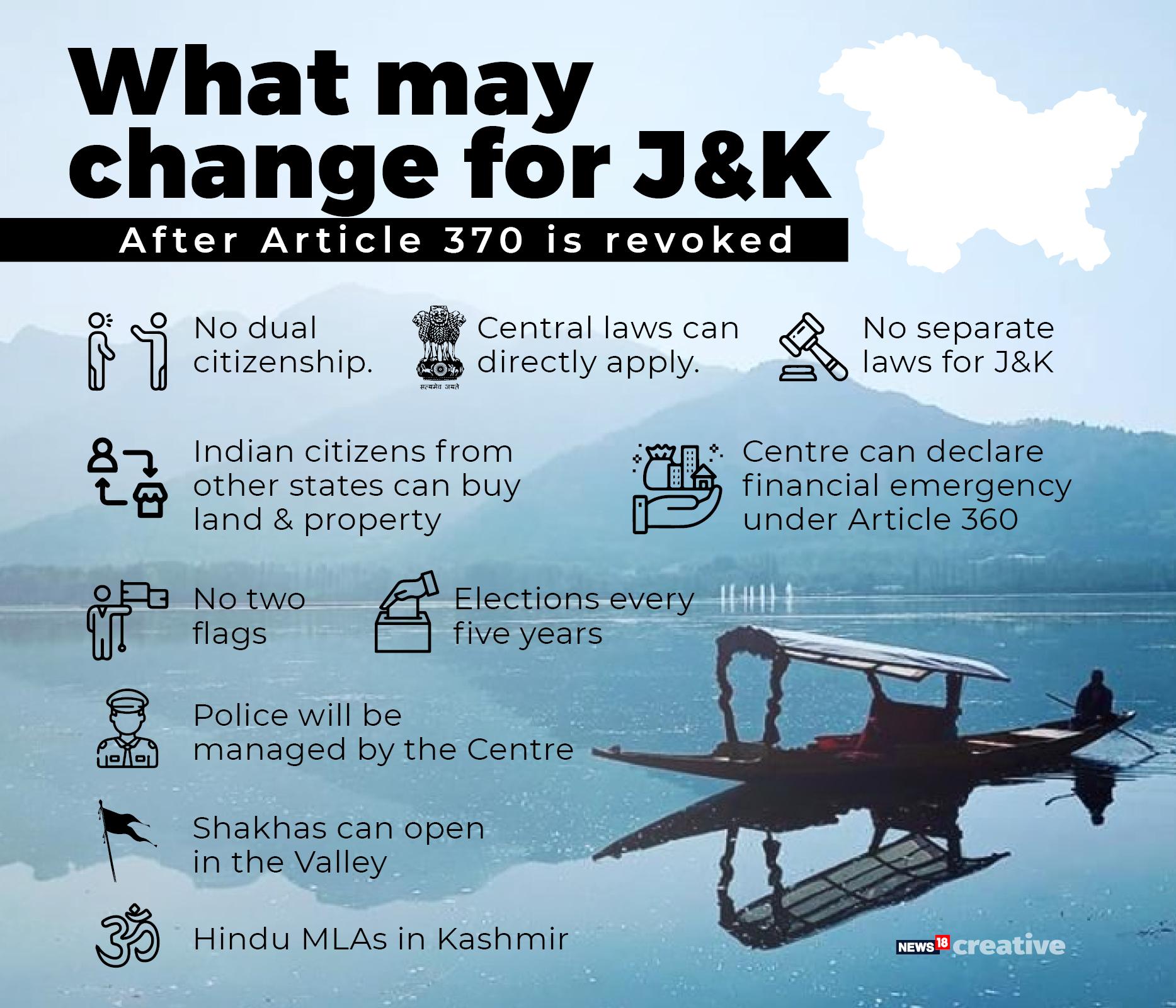 Jammu & Kashmir Reorganisation Bill, 2019 passed in Rajya Sabha - As it happened