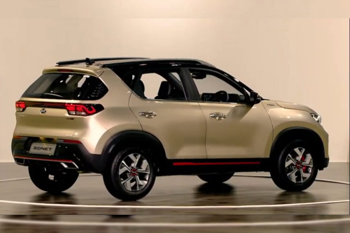 Kia Sonet Suv India Unveil Live Design Features Price Variants And More