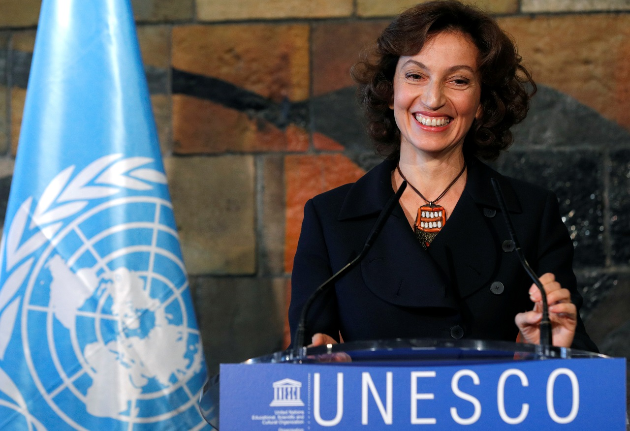 UNESCO names Audrey Azoulay as head   