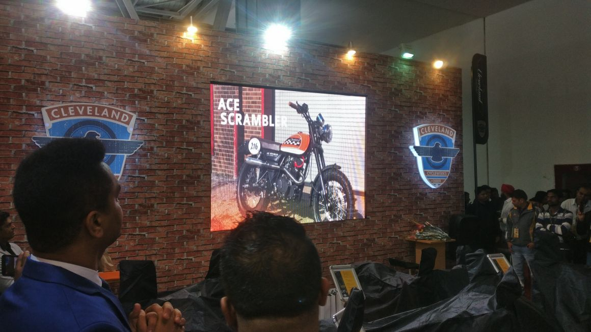 <p>Here&#39;s a look at the Cleveland models for India. The Ace Scrambler</p>