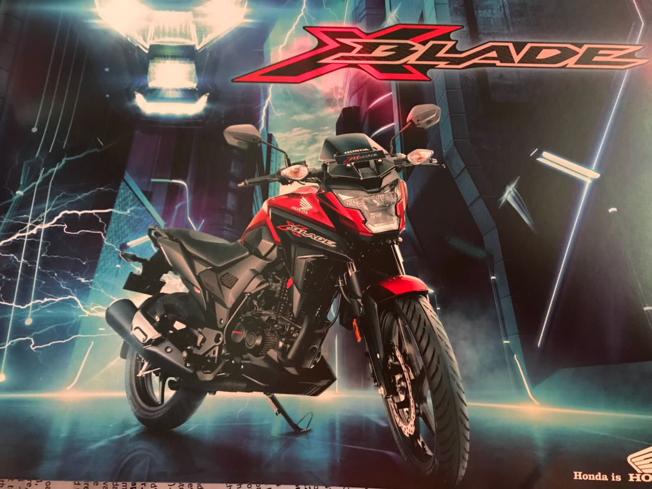 <p>Honda is launching the XBlade - mechanically identical to Hornet</p>