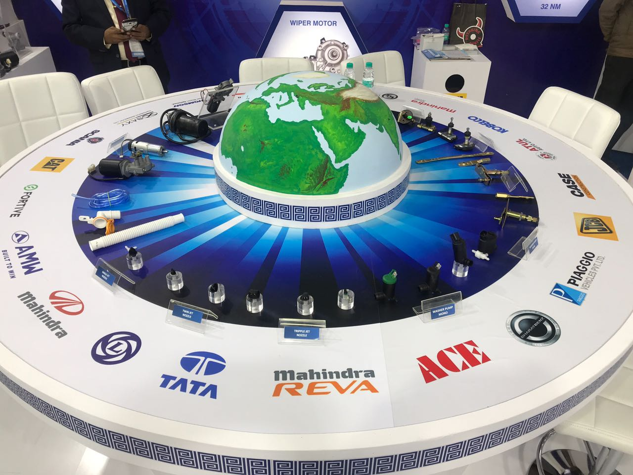 <p>Prabha Engineering has tied up with DY Auto from South Korea to develop the new gen wiper system. Lighter and more efficient than before. Complies with ARAI regulations.</p>
