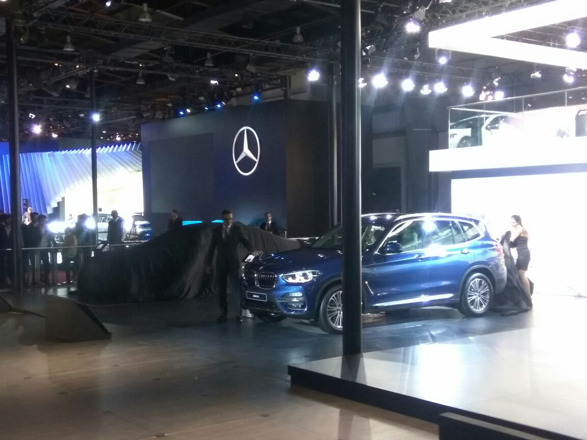 <p>The new BMW X3 unveiled!</p>