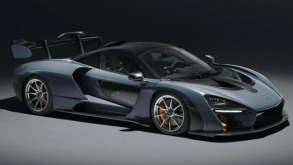 <p><strong>McLaren</strong></p>  <p>With 800PS / 800Nm, and a low weight of 1,198kg&nbsp;McLaren says the Senna is their most extreme road-legal car yet. The McLaren Senna comes powered by a 4-litre twin-turbo V8, mated to a 7-speed dual-clutch gearbox, and costs a whopping $ 1 million (Rs 6.45 crore approx). The hypercar stands out with its orange paint and blue highlights, a throwback to the McLaren racing livery from the 1960s</p>