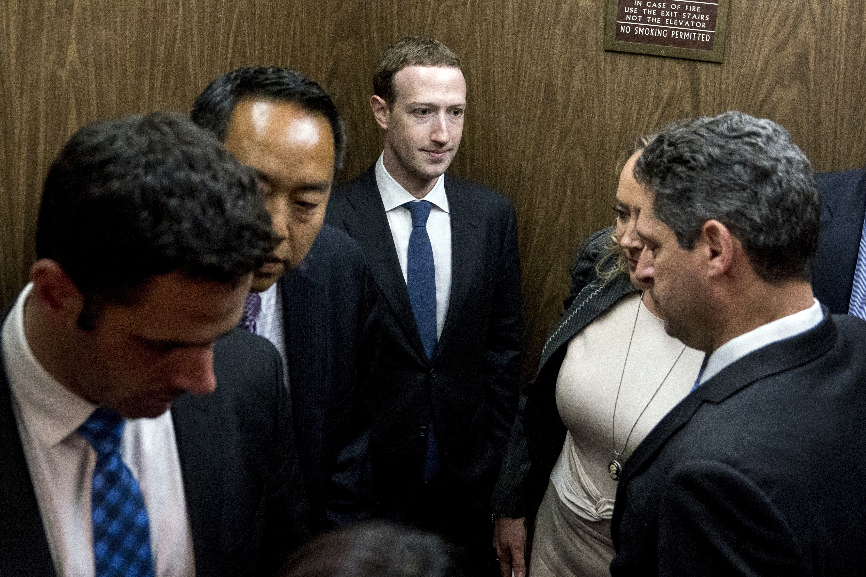 Mark Zuckerberg Tells Congress 'It Was My Mistake, and I'm Sorry'