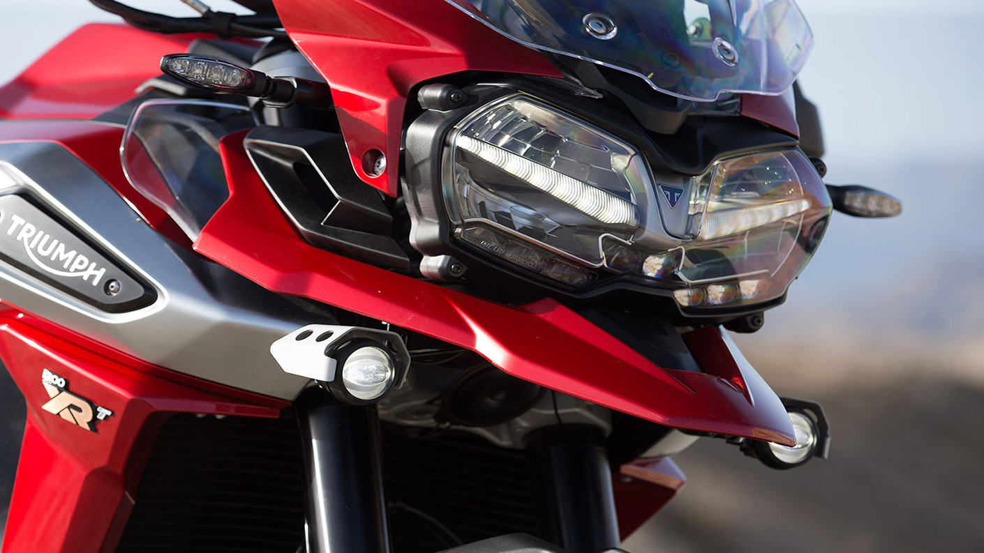 <p>Triumph took four years to develop the new-gen Tiger 1200. Boasts of over 100 improvements&nbsp;</p>