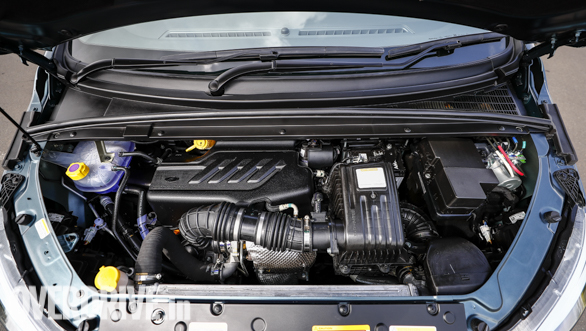 <p>The Mahindra Marazzo is powered by an all-new, four-cylinder 1.5-litre diesel engine that produces 122PS and 300Nm of torque</p>