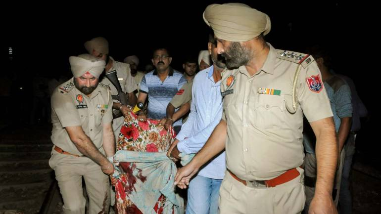 2 injured in clashes between police, protestors at Amritsar accident site