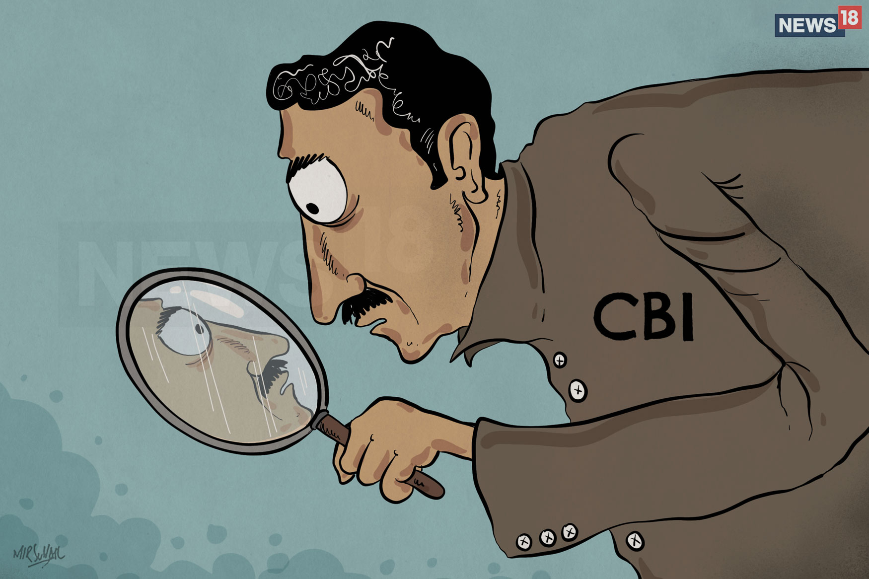 What fuelled the feud in CBI?