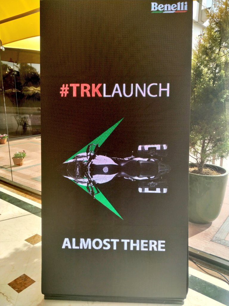 """<p><span style=""""color:rgb(34, 34, 34); font-family:arial,helvetica,sans-serif; font-size:small"""">&nbsp;Big day today for Benelli India as the company is all set to launch the TRK 502 and TRK 502X.</span></p>"""