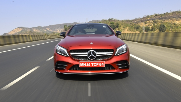 <p>Mercedes claims a 0-100kmph acceleration figure of 4.7s,&nbsp;and an electronically limited top-speed of 250kmph for the C 43&nbsp;Coupe.</p>