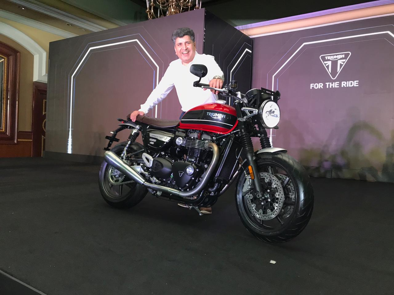 <p>Triumph Speed Twin launched in India at Rs 9.46 lakh ex-showroom Pan India</p>