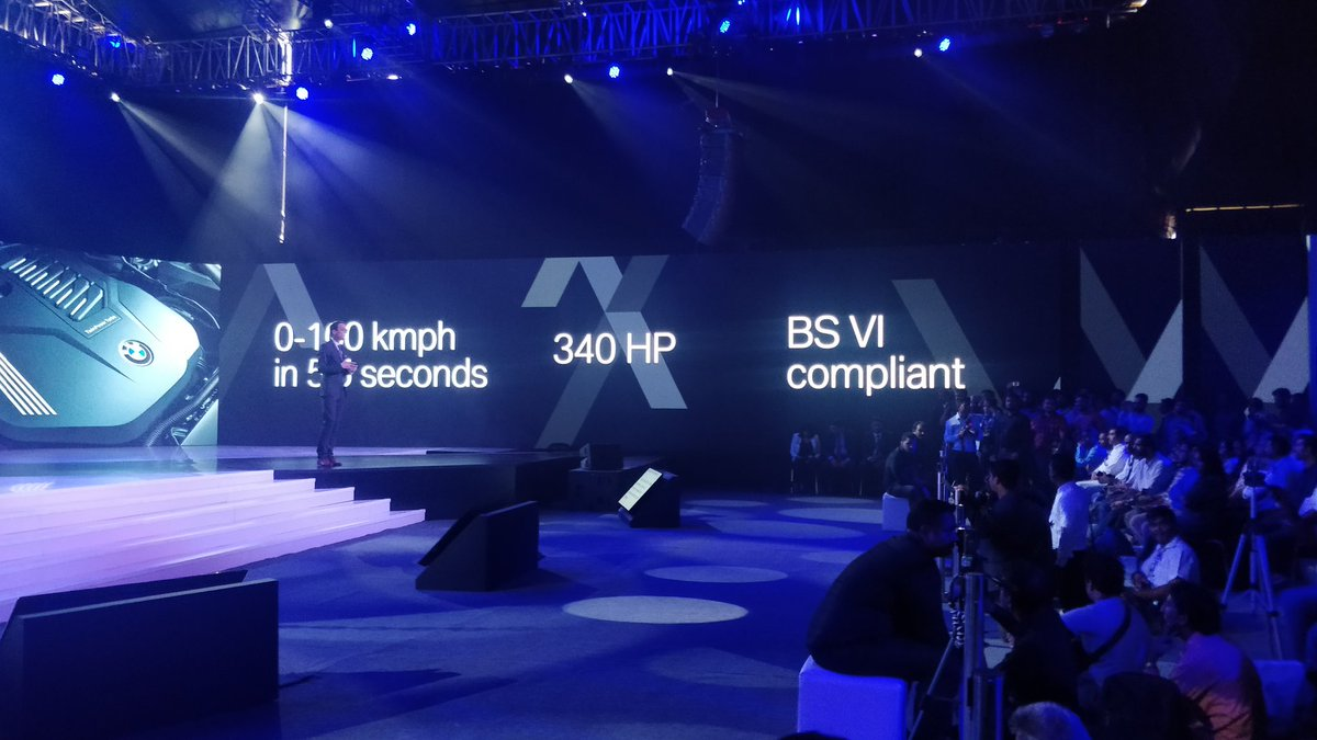 <p>The BMW X5 will be available in one diesel and one petrol option. Both 3.0l inline 6</p>