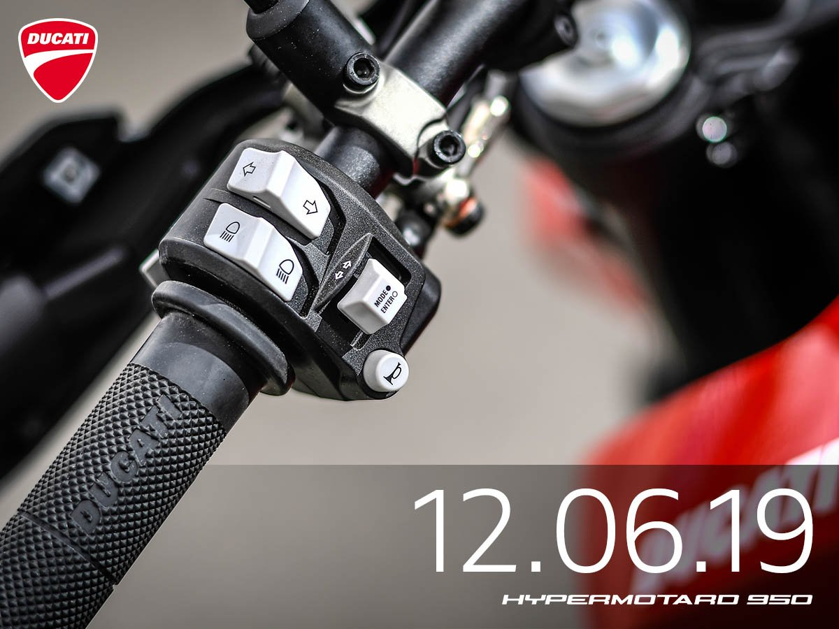 <p>With the three electronic setups/riding modes available on the Hypermotard 950, riders have the ability to customize their Hypermotard according to their riding style.&nbsp;</p>