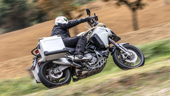 "<p>Details on the specifications of the more powerful engine of <a href=""http://overdrive.in/news-cars-auto/2019-ducati-multistrada-1260-enduro-specifications-explained/"">the 2019 Ducati Multistrada 1260 Enduro here.</a></p>"