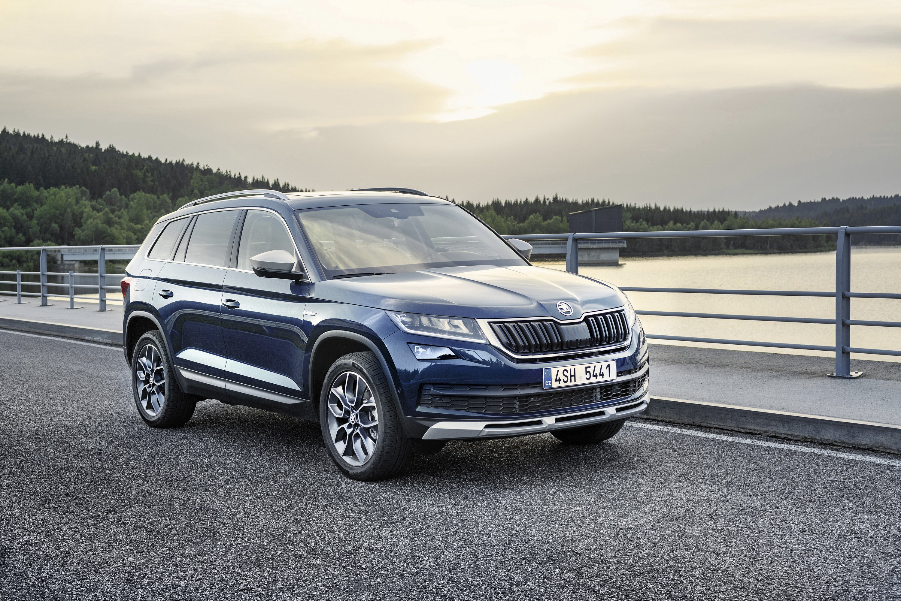 <p>The Scout also benefits from the extra underbody protection afforded by the rough road package, with protection extending over the engine and drivetrain.</p>