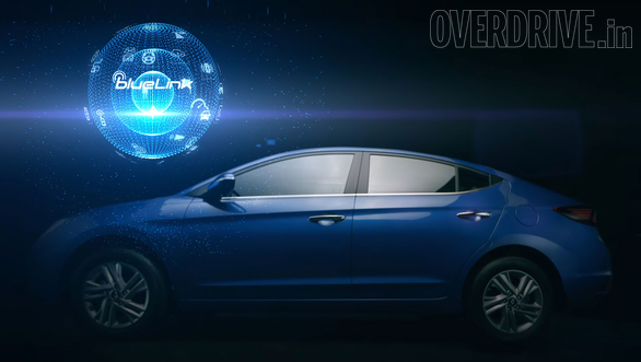<p>We already know&nbsp;&nbsp;that the updated 2019 Elantra will also feature the Hyundai Bluelink connected technologies similar to that the Hyundai Venue</p>
