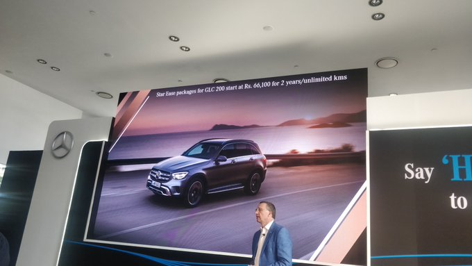 <p>The maintenance packages for the #NewGLC start at Rs 66,000 for 2 yr/unlimited km.&nbsp;</p>