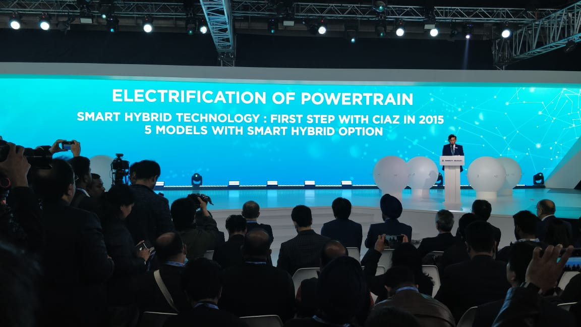 <p><strong>Maruti Suzuki India</strong><br /> First step towards electrification of powertrain in 2015, with the launch of Smart Hybrid technology in Ciaz.</p>