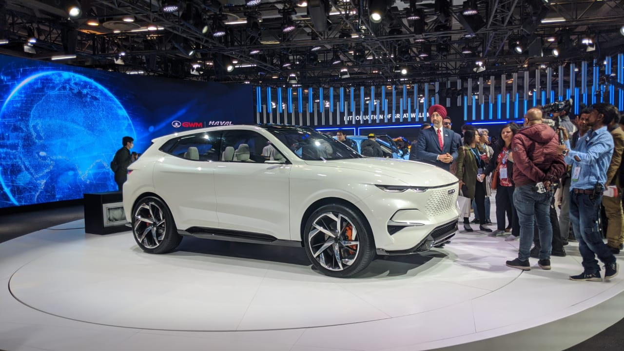 <p>Haval Vision 2025 concept (seen at Shanghai last year).</p>