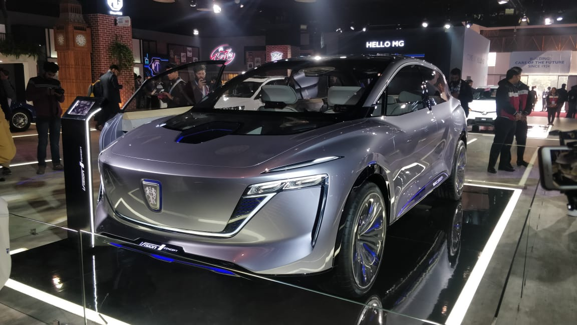 <p>Another highlight is the Visioni concept. A mobility solution centred around 5G connectivity.</p>