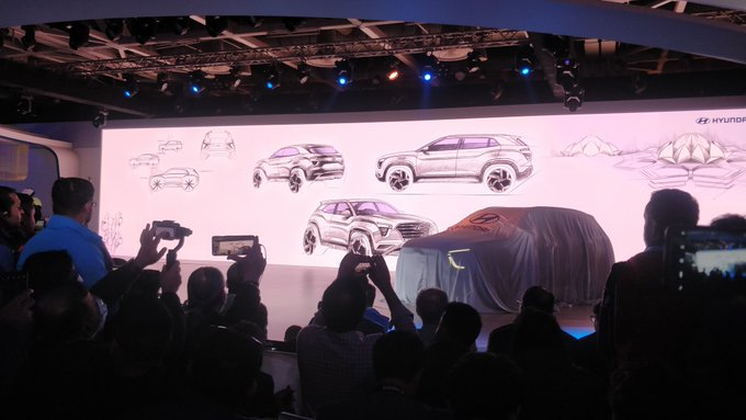 <p><strong>Hyundai India -&nbsp;Auto Expo 2020, Day 2:</strong></p>  <p><br /> Sketches suggest that the 2020 Hyundai Creta has aggressive styling.</p>