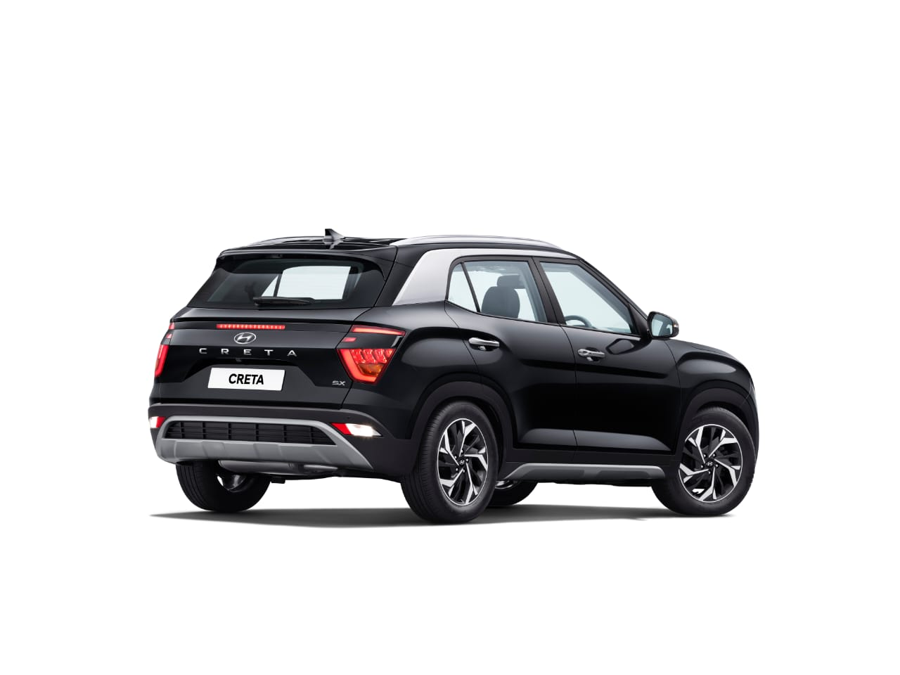 <p><strong>Hyundai India - Auto Expo 2020, Day 2:</strong></p>  <p>The rear LED stop lamp placed in the centre above the&nbsp;Hyundai Creta logo is bound to draw attention.</p>