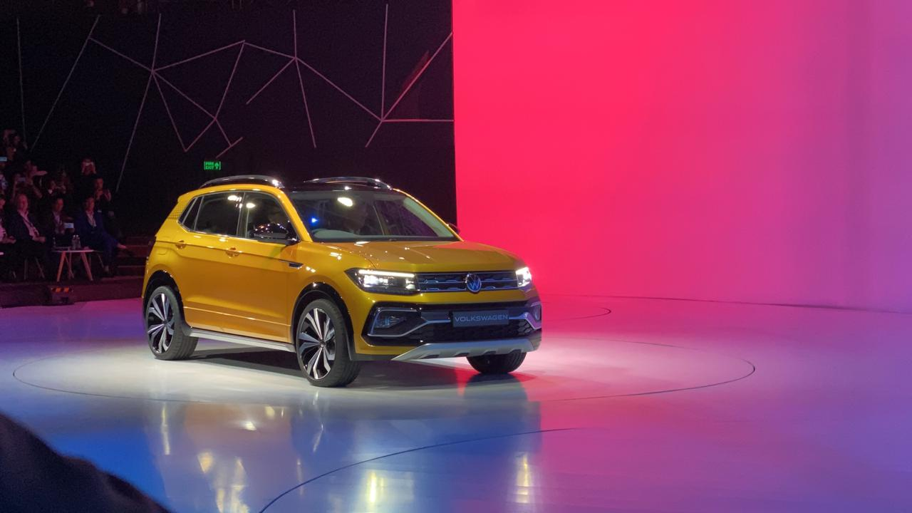 <p>The Volkswagen A0 IN SUV - compact, looks production ready, and very stylish. To be called Taigun.</p>