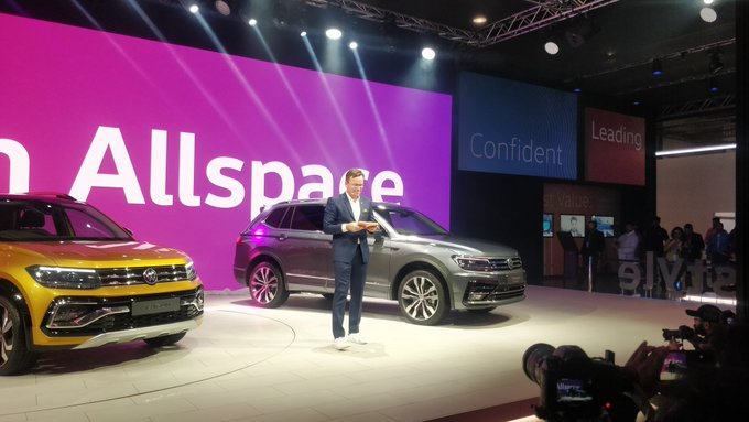 <p>The&nbsp;Tiguan Allspace has also been revealed, gets a 2.0-litre 190PS with a DCT, slightly different styling but most importantly gets an extra row of seats.</p>