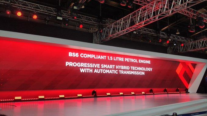 <p><strong>Maruti&nbsp;Suzuki India on Day 2 of Auto Expo 2020:</strong></p>  <p>Maruti Suzuki Vitara Brezza now comes with a BSVI compliant 1.5 litre petrol motor with the Smart Hybrid tech.</p>