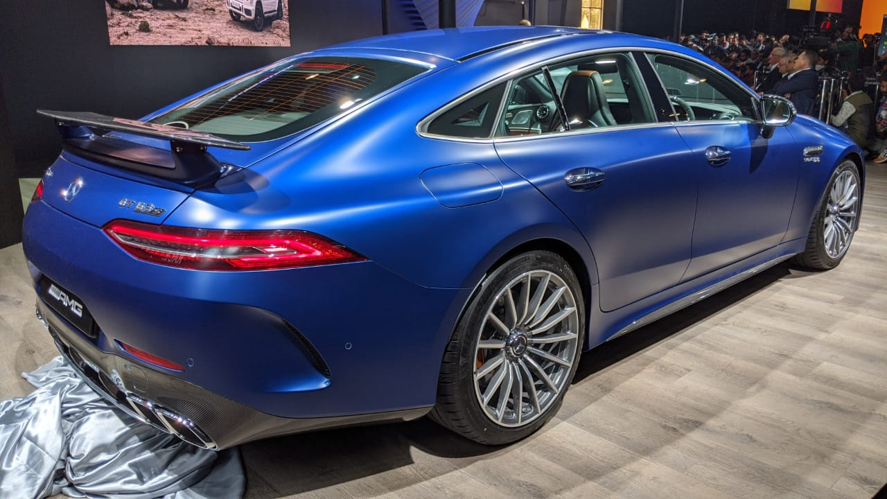 <p>Mercedes-Benz AMG GT63 S priced at Rs 2.42 Crore ex-showroom.</p>
