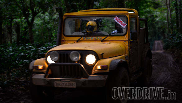 "<p>Before the event starts off, here&#39;s a look at the <a href=""http://overdrive.in/news-cars-auto/features/od-suv-slugfest-mahindra-thar/"">last time we went on an adventure with the Thar</a></p>"