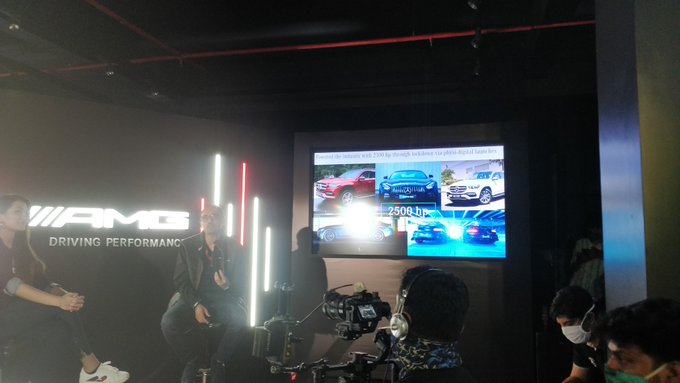 <p>Over 2,500PS worth Mercedes-AMG products have been launched by Mercedes-Benz India during the lockdown</p>