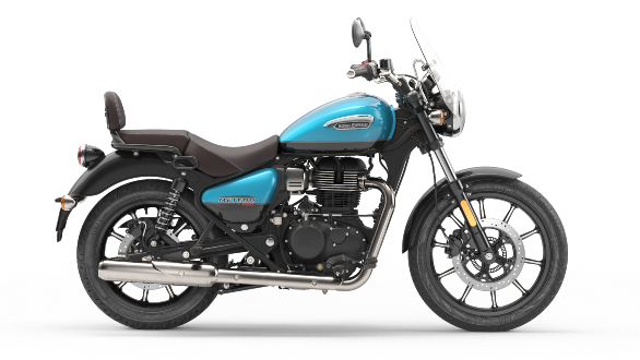 <p>Powering the Royal Enfield Meteor 350 is an all-new J series 350cc air-cooled engine.</p>