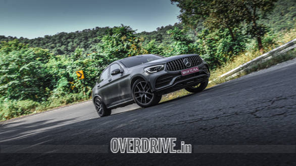 """<p>We&#39;ve already had a go at the&nbsp;<span style=""""color:rgb(102, 102, 102); font-family:arial; font-size:14px"""">2020 Mercedes-AMG GLC 43 Coupe. <a href=""""http://overdrive.in/reviews/2020-mercedes-amg-glc-43-coupe-road-test-review/"""">Read our review here with real-world performance and efficiency figures included</a></span></p>"""