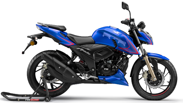 "<p>2020 TVS Apache RTR 200 4V gets ride modes and adjustable suspension, priced at Rs 1.31 lakh. <a href=""https://www.overdrive.in/news-cars-auto/2020-tvs-apache-rtr-200-4v-gets-ride-modes-and-adjustable-suspension-priced-at-rs-1-31-lakh/"">Here&#39;s our launch story.</a></p>"