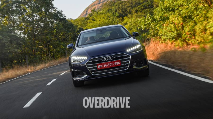 "<p>We&#39;ve already driven the new Audi A4 and <a href=""https://www.overdrive.in/reviews/2021-audi-a4-40-tfsi-road-test-review/"">you can read our full road test of the 2021 A4 here</a></p>"