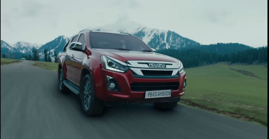 <p>The Isuzu D-Max V-Cross is set to get an automatic version</p>