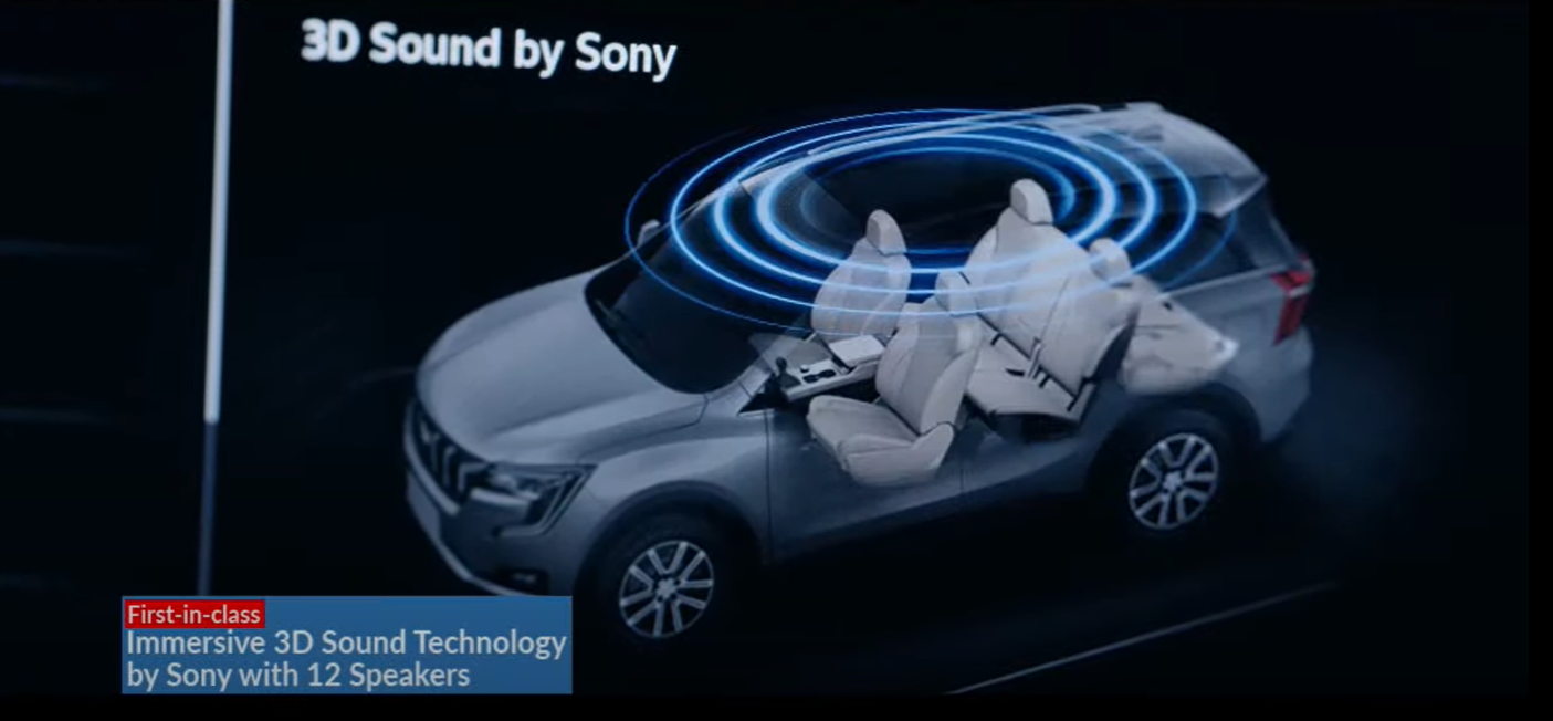 <p>There is a panoramic sunroof as well as this 12 speaker Sony sound system</p>