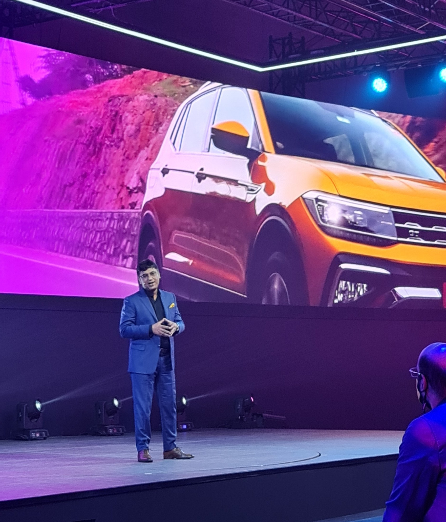 <p>Ashish Gupta, Brand Director at Volkswagen India intent on claiming 3 percent&nbsp;market share for Volkswagen in India. Taigun will be the first of a new line of products that will spearhead this challenging journey.</p>
